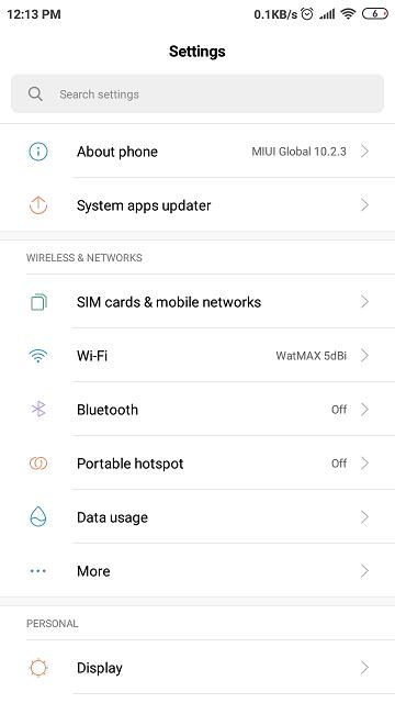 StormFiber Login Settings App Android Phone