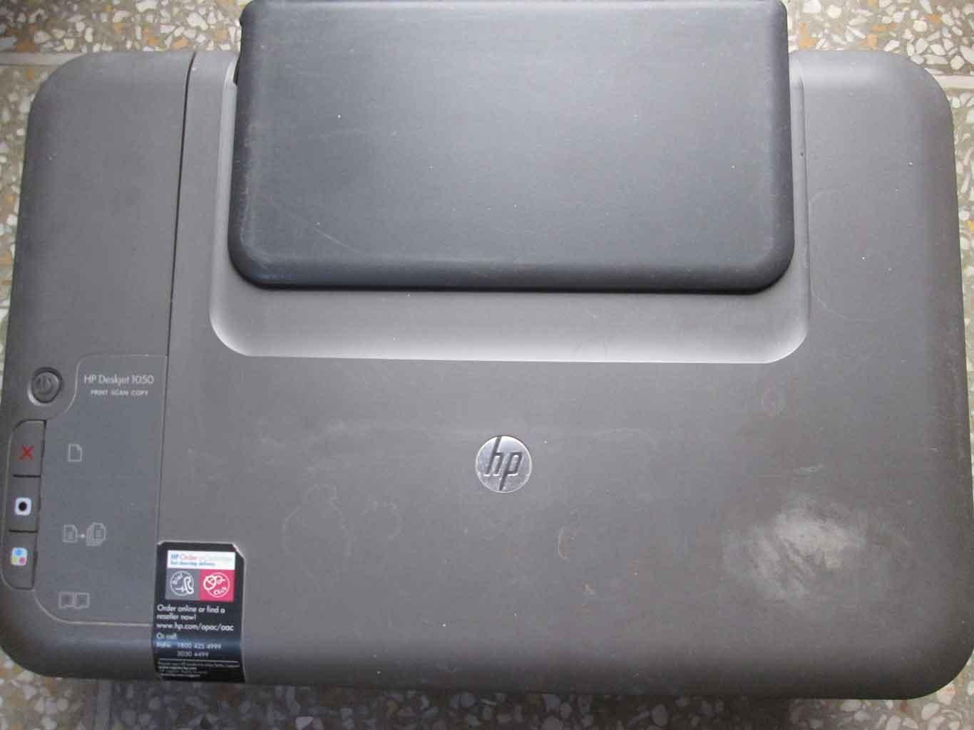 HP DeskJet 1050 All-in-One J410 Series Printer, Scanner, Photocopier