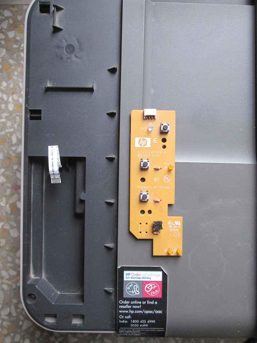 HP DeskJet 1050 Circuit Board